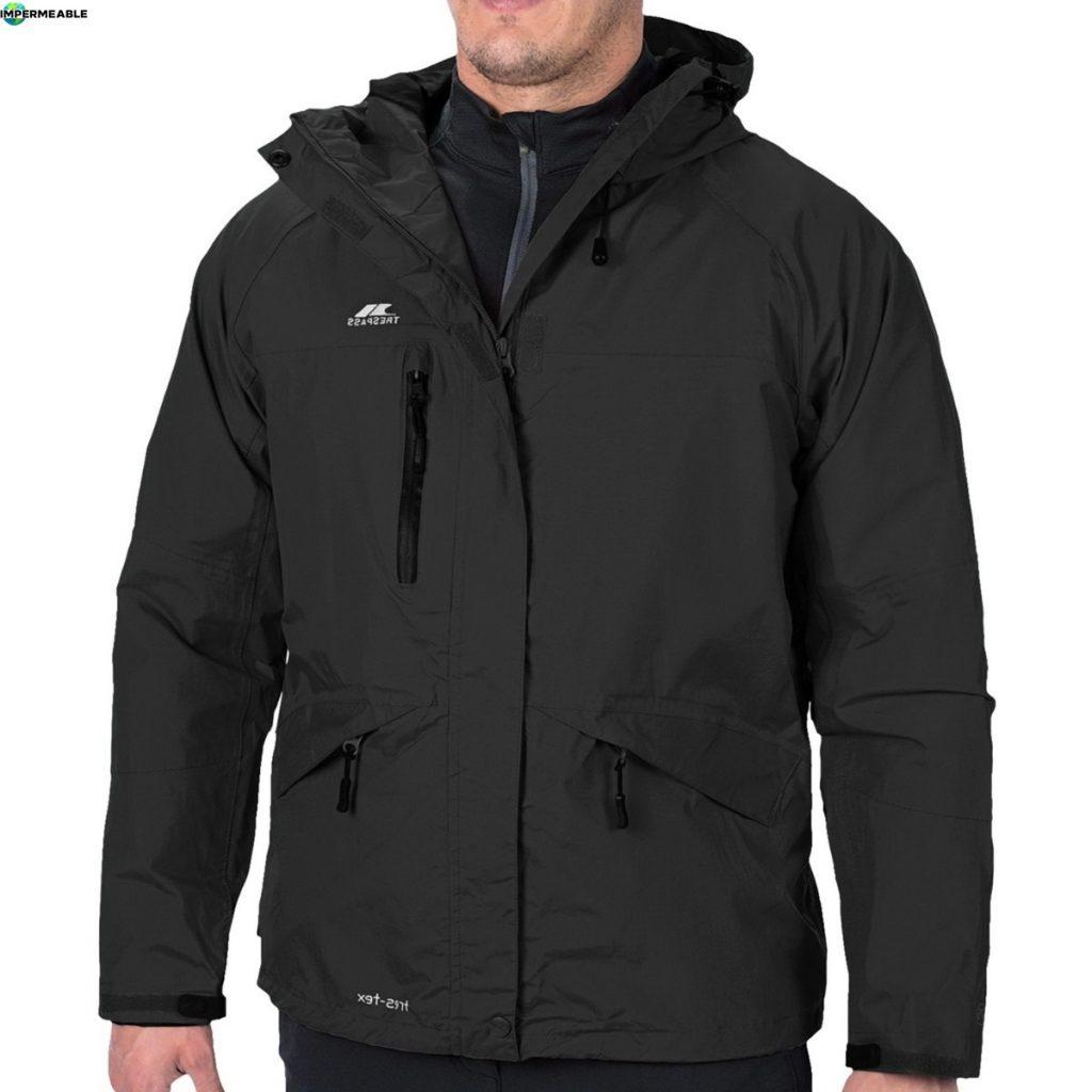 campera de abrigo impermeable hombre