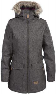 abrigo impermeable mujer
