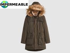 campera abrigo impermeable mujer