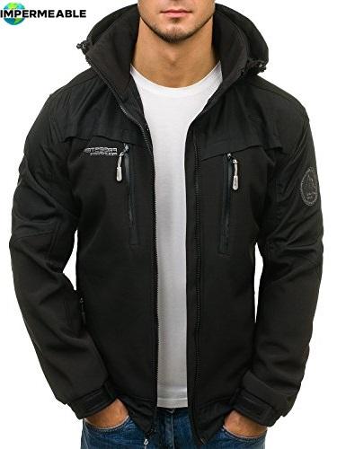 chaqueta impermeable hombre vestir
