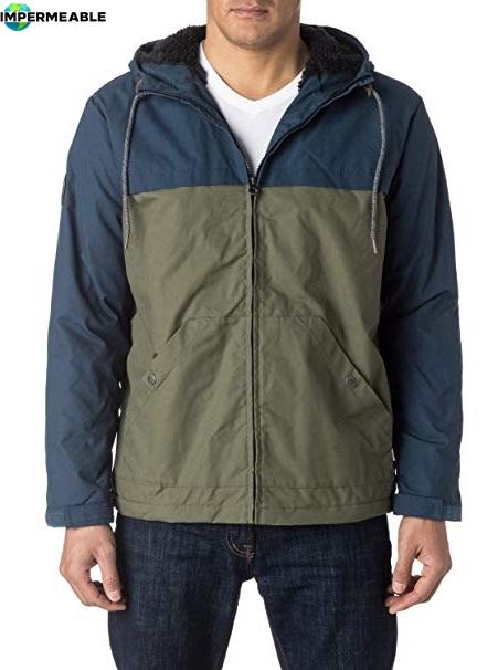 chaqueta impermeable montaña hombre