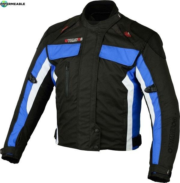 chaqueta impermeable moto hombre