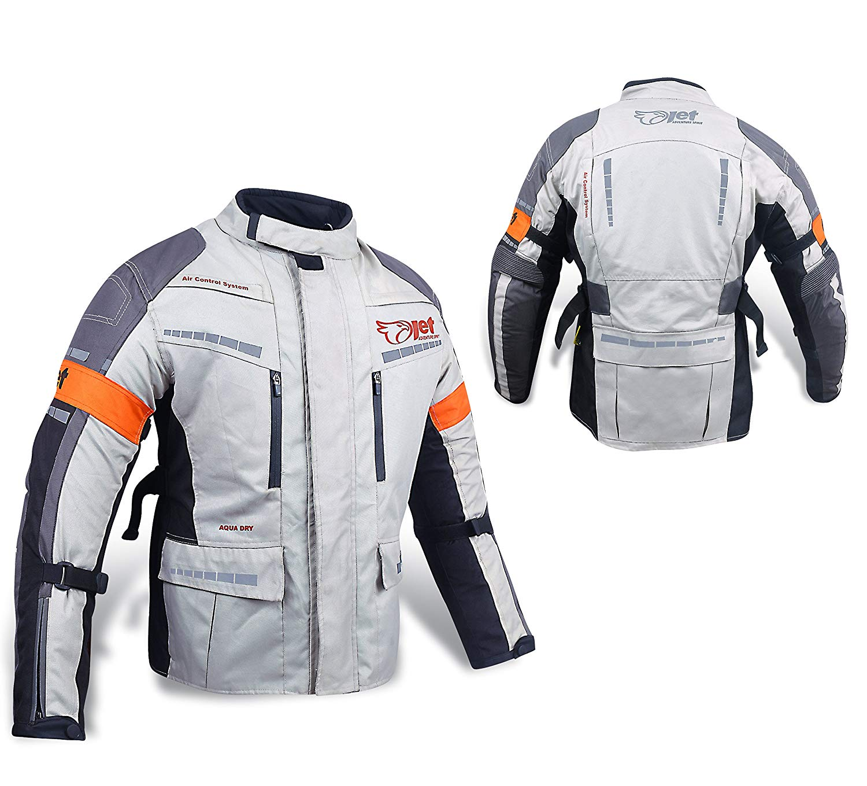 chaqueta impermeable moto