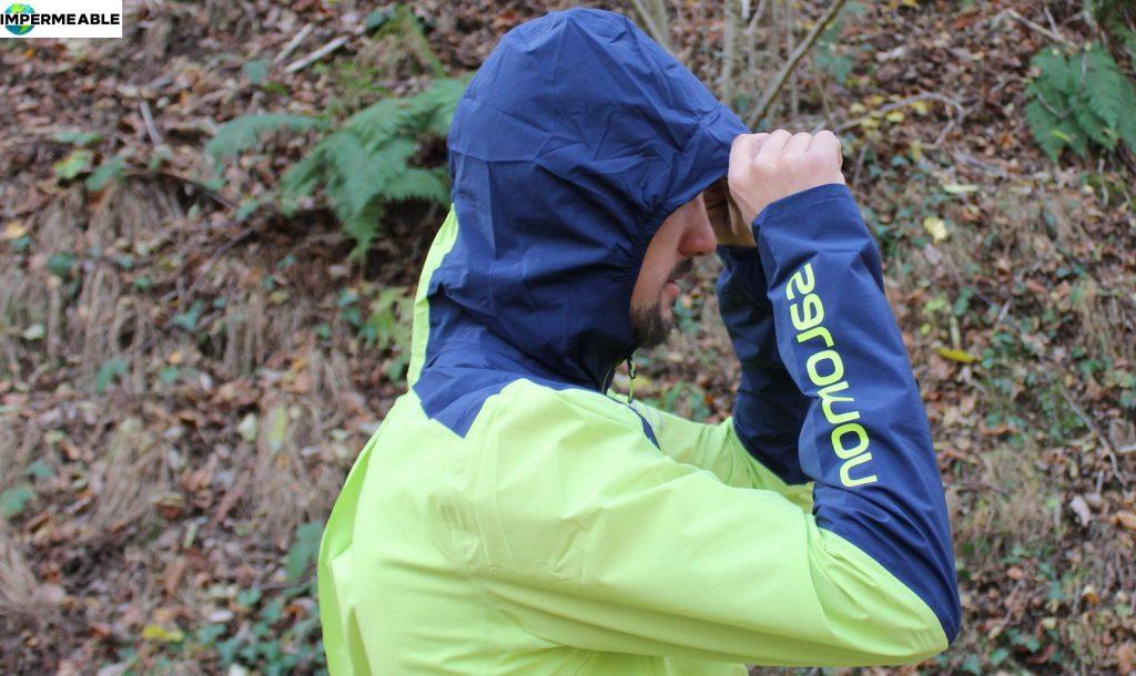 venta cortavientos impermeable trail running