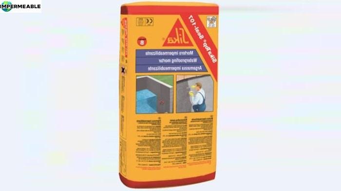mortero impermeable para eliminar humedades