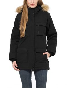 parka impermeable mujer