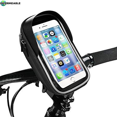soporte celular bicicleta impermeable
