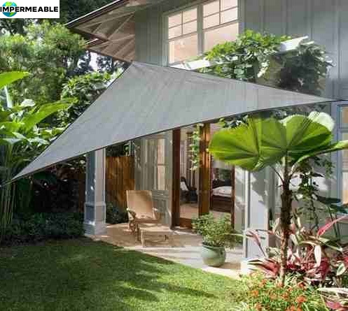 toldo vela rectangular impermeable