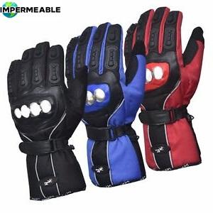 guantes moto impermeables proteccion