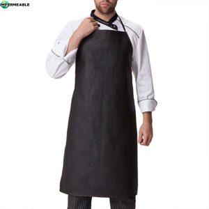 delantal impermeable cocina